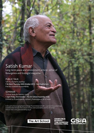 Satish Kumar - Life is a Dynamic Journey