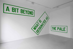 David Elliot & Lawrence Weiner in Conversation at GSA