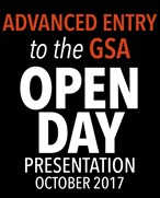 Advanced Entry to the GSA Open Day Talk 2017
