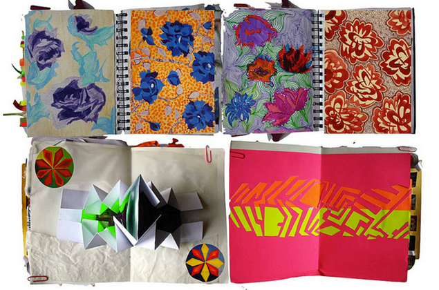 Design portfolio for students