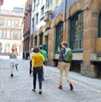 Book a GSA tour with an award-winning student guide