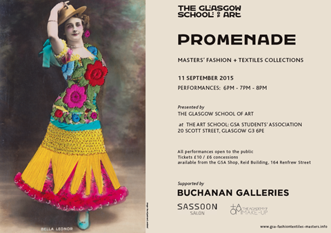 Promenade: Master's Fashion + Textiles Collections