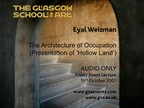 Eyal Weizman The Architecture of Occupation (Presentation of 'Hollow Land')