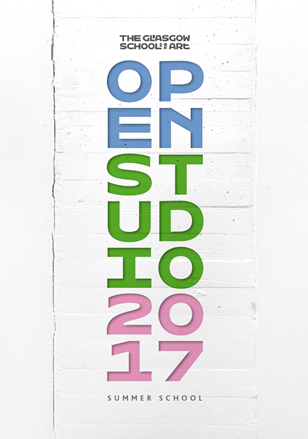 Open Studio Summer Programme 2017 at The Glasgow School of Art