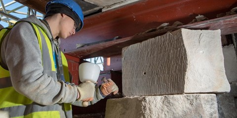 Conservation Philosophy: A case study - The Mackintosh Building Restoration Project