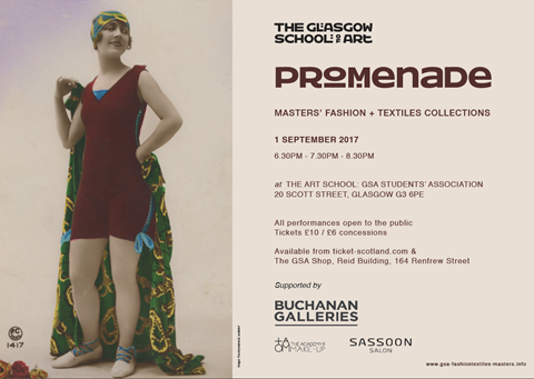 Promenade, Master's of Fashion + Textile Collections