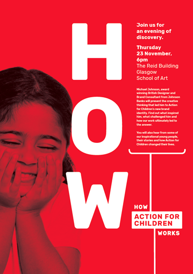 Action for Children: Design Talk