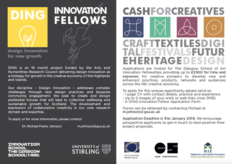 Call for DING Innovation Fellows