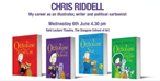 Chris Riddell: My career as an illustrator, writer and political cartoonist