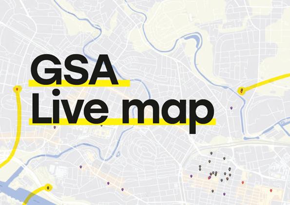 gsa live map