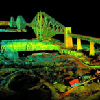 Games and apps created using 3D scans of Forth Bridges