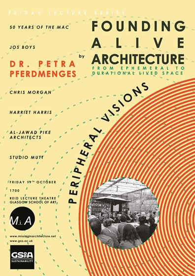 Petra Pferdmenges MSA Friday Lecture Series