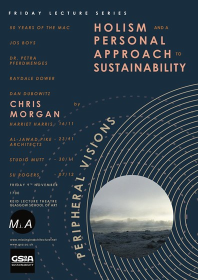 CHRIS MORGAN  MSA Friday Lecture Series