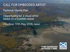 National Islands Plan: Embedded Artist Call