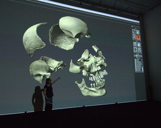 Lab 1 at the Digital Design Studio - The largest stereo projection space in the UK.