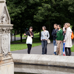 Discover Glasgow with an award-winning student guide on GSA's new City Walking Tours