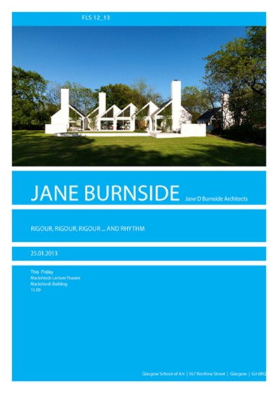 MSA Friday Lecture Series Jane Burnside