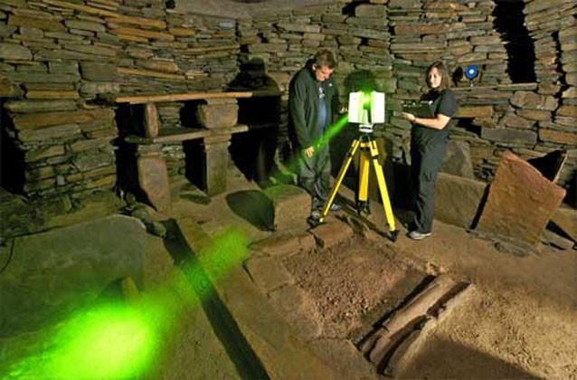 Laser scanning cultural heritage, Scottish Ten project
