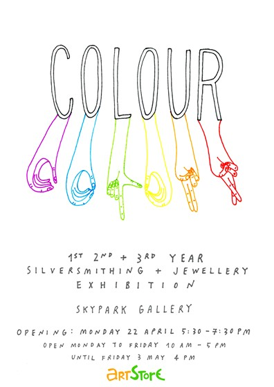 Colour - Silversmithing + Jewellery exhibition