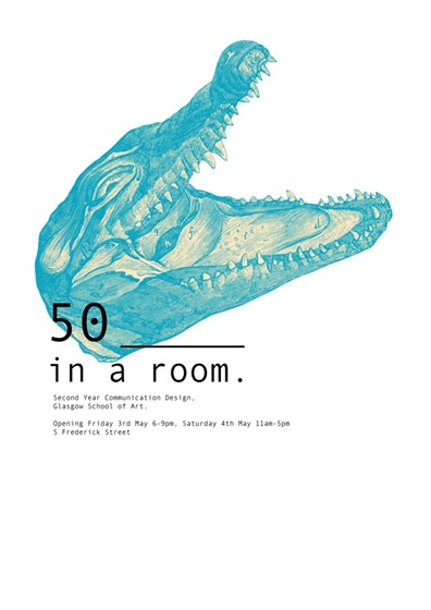 50 ________ in a room