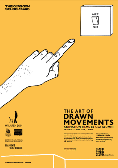 The Art of Drawn Movements: Animation Films by Glasgow School of Art Alumni