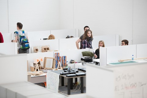 Interior Design studios in the Reid Building
