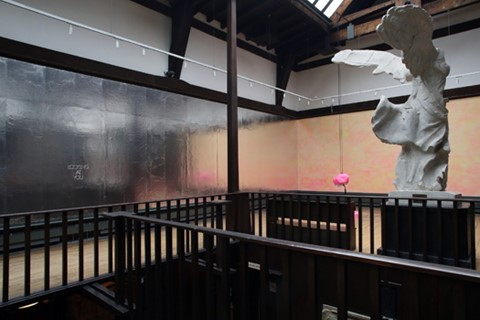 Michael Stumpf: This Song Belongs to Those who Sing it, Mackintosh Museum installation view, 2014