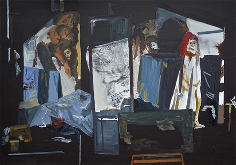 Studio Paintings: Richard Walker