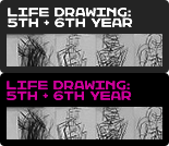 Twilight Life Drawing for 5th and 6th Year Pupils