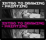 Introduction to Drawing + Painting
