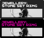 Jewellery: A Stone Set Ring