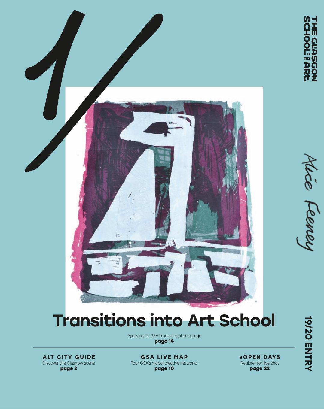 Transitions into Art School