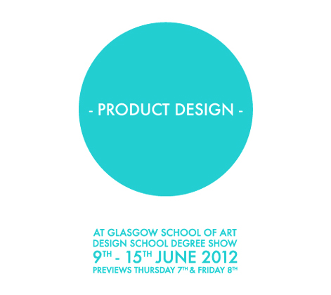 PD 2012 Degree Show