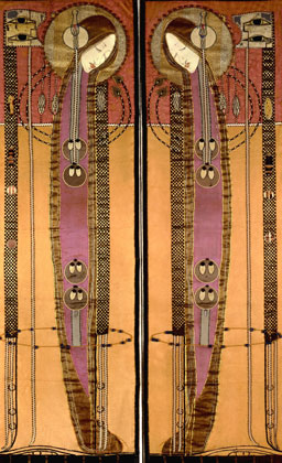 margaret macdonald embrodiered panels