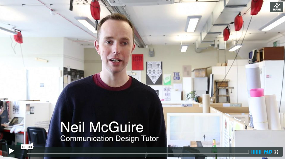 Neil McGuire - ComDes Tutor talks about A Feral Studio