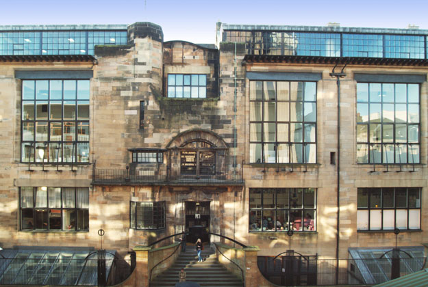 Mackintosh building facade